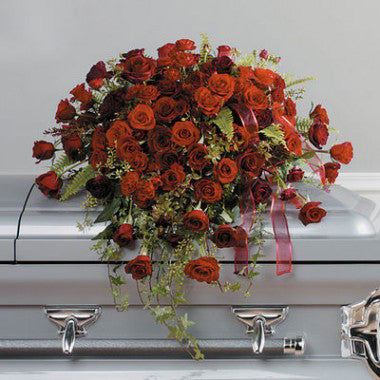 Loving Rose Casket Spray - STACY K FLORAL