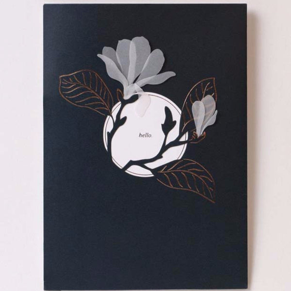 Magnolia Greeting Card - STACY K FLORAL