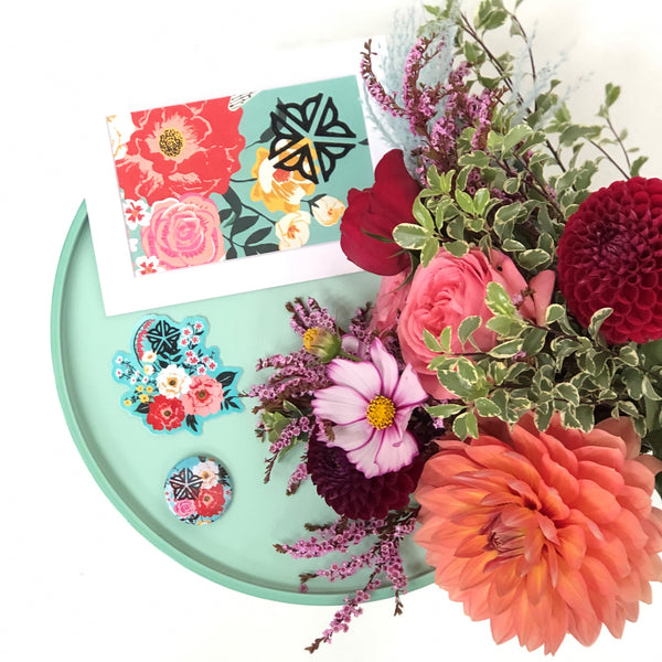Nerdy Octopus flower bundle with Stacy K Floral