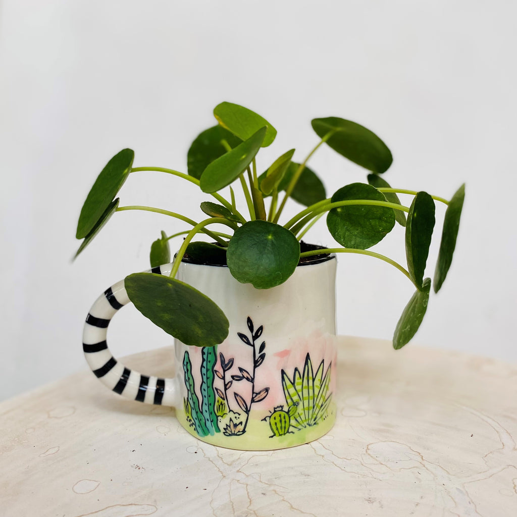 Jungle mug with pliea