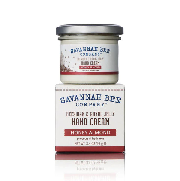 This best-selling Savannah Bee product naturally replenishes lost moisture and creates a barrier between skin and everything else out there looking to damage it. The rich, creamy texture is quickly absorbed without leaving a greasy after-feel, and stays put through multiple washings to be effective for even the most hard-working hands. Honey Almond - The scent is rounded out with just a touch of peach for a pleasantly fresh fragrance.