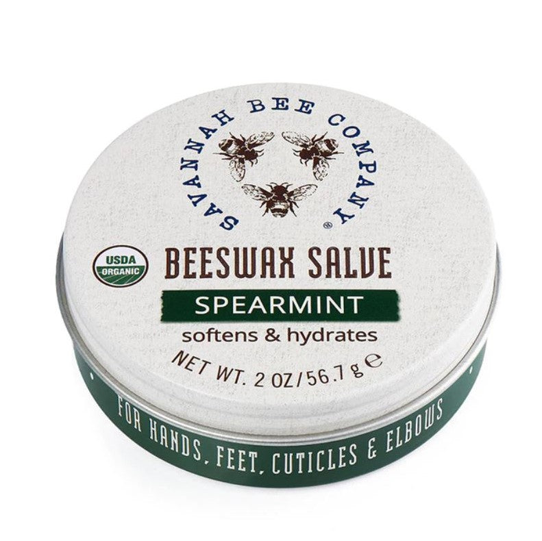 Savannah Bee Original Spearmint Beeswax Salve - STACY K FLORAL