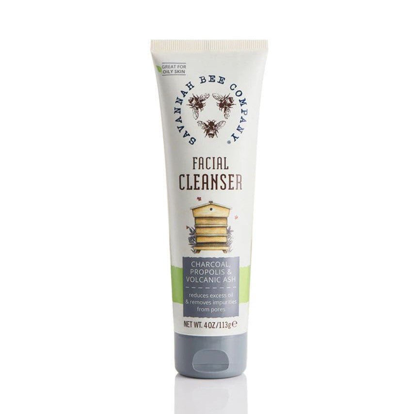 Savannah Bee Charcoal Facial Cleanser - STACY K FLORAL