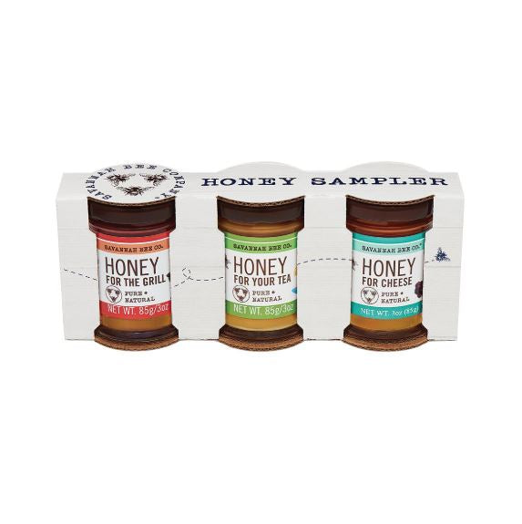 Savannah Bee Honey Sampler Trio - STACY K FLORAL