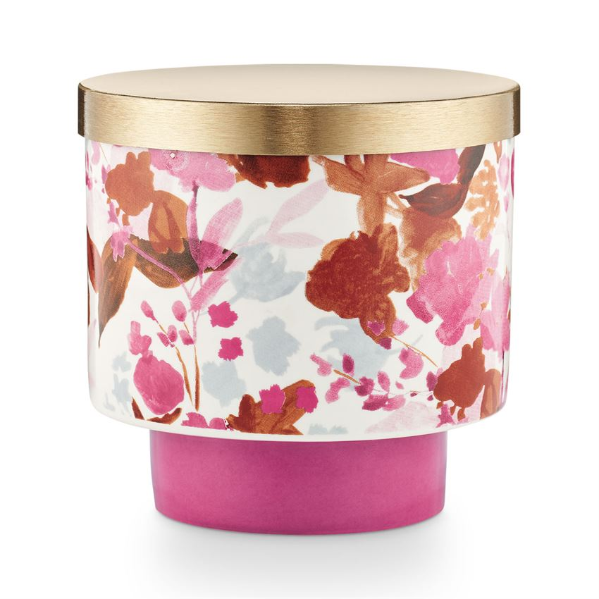 Go Be Lovely Lidded Ceramic Candle - STACY K FLORAL