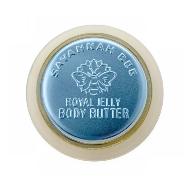 Savannah Bee's Royal Jelly Body Butter has a soft, gentle formula that deeply moisturizes while nourishing your skin with multivitamins and antioxidants.