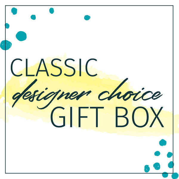 designers choice gift box of floral and gifts