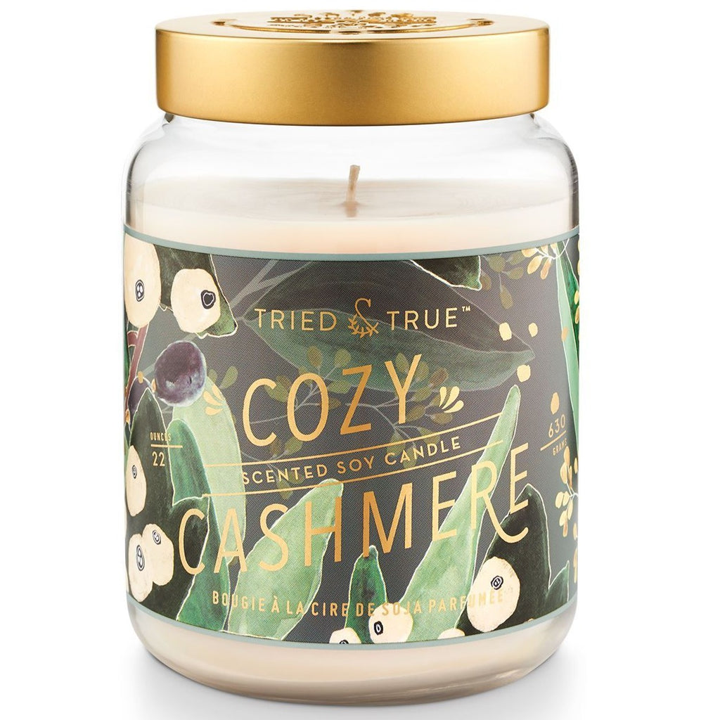 Cozy Cashmere candle lg