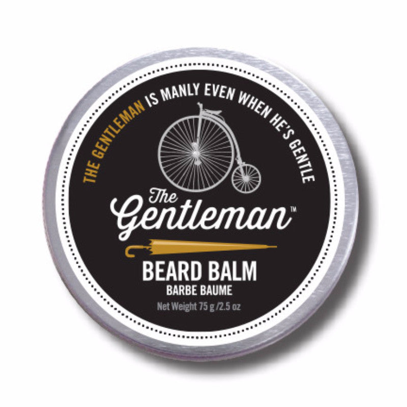 The Gentleman is a very lightly scented beard balm with light citrus notes.