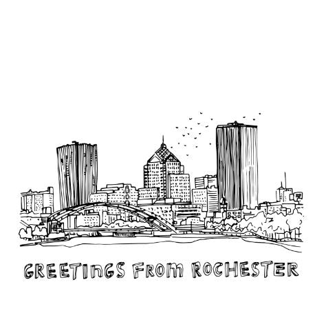 Greetings from Rochester Card - STACY K FLORAL
