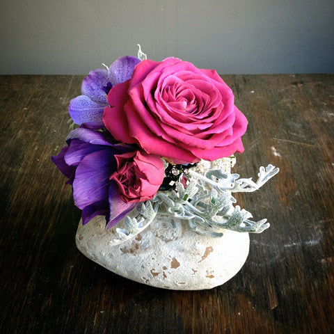 Purple Corsage - STACY K FLORAL