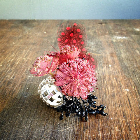 Red Flower Ring - STACY K FLORAL
