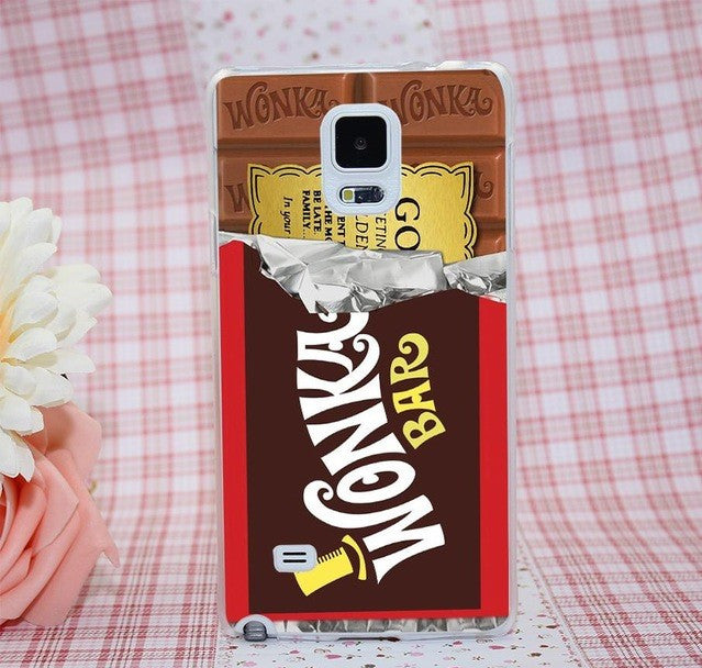 Willy Wonka Bar Case for Samsung Galaxy