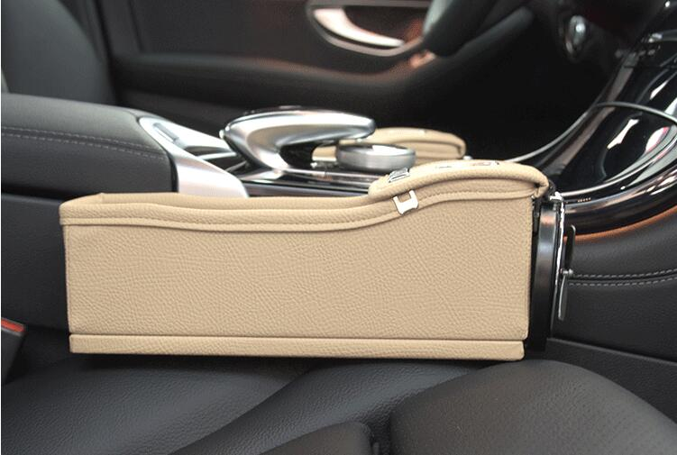 Multifunctional Car Seat Storage Bag With Drinks Holder
