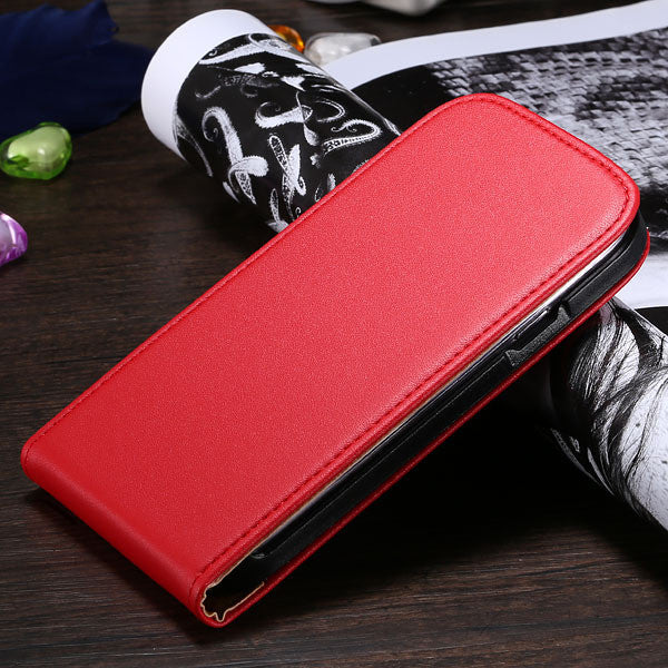 Real Genuine Leather Phone Case For Samsung Galaxy S3 & S4