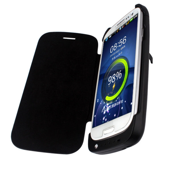 3200mah External Battery Charger Case Cover For Samsung Galaxy S3