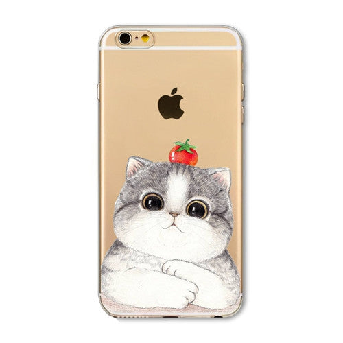 Cute Cat Phone Covers for Iphone