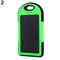 5000 mAh Dual USB Portable Solar Charger Battery Universal Rain-resistant Power Bank