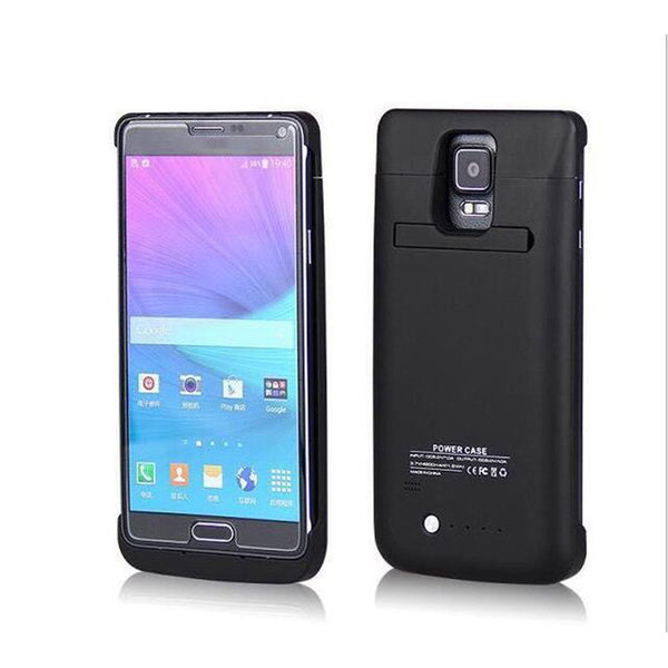 4800mAh External Battery Charger Case For Samsung Galaxy Note 4