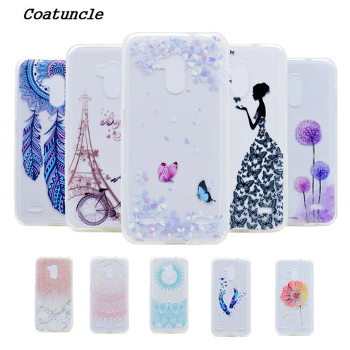 Soft Silicone TPU Phone Case For ZTE Blade V7 Lite 5.0