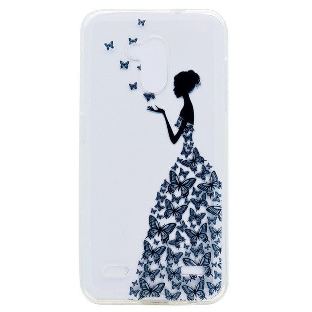 Soft Silicone TPU Phone Case For ZTE Blade V7 Lite 5.0""