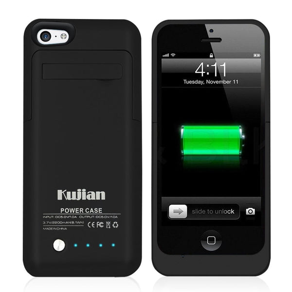 2200mah Battery Case For iphone 5 5S 5C SE