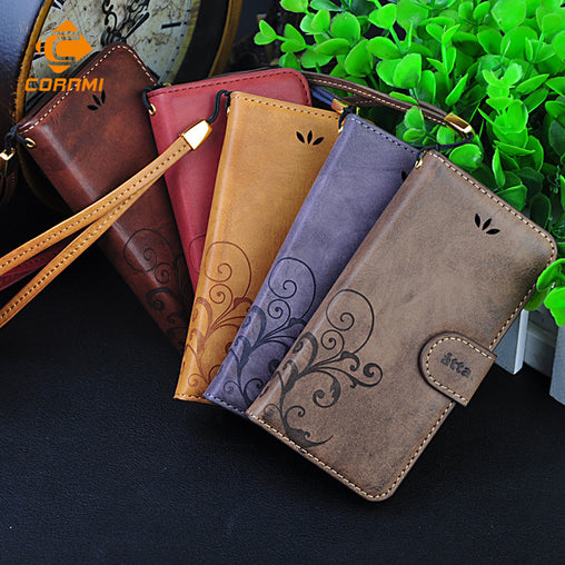 Wallet Leather Flip Case
