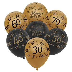10 Pcs Gold Latex Balloons For Birthday Party Decorations Make Your Lives