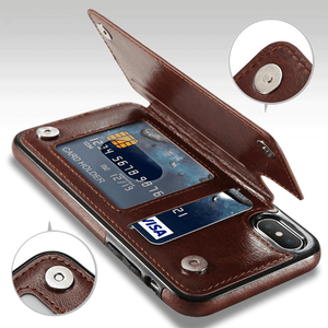 4-in-1 Luxury Leather Wallet Case For iPhone Make Your Lives