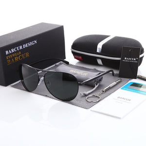 BARCUR Rays Aviation Polarized Sunglasses Make Your Lives