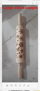 Christmas embossing rolling pin Make Your Lives