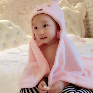 Comfortable Baby Hooded Bath Towel Make Your Lives