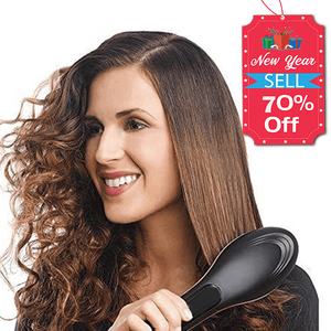 Hairbrush Style Straightener | Make Your Lives - $27.99