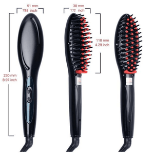 Hairbrush Style Straightener Make Your Lives