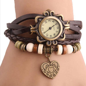 Heart Vintage Wrap Watch Make Your Lives