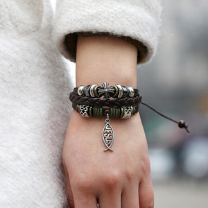Multi layer Cute Charm Wrap Bracelet Make Your Lives