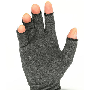 One Pair Open Finger Arthritis Gloves Make Your Lives