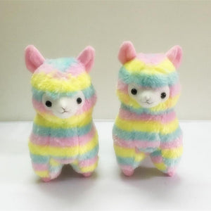Rainbow Alpaca Stuffed Toy Make Your Lives