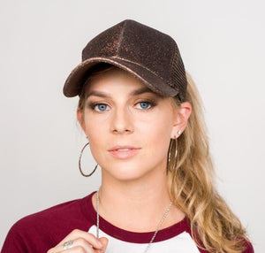 Women Ponytail Baseball Cap Make Your Lives
