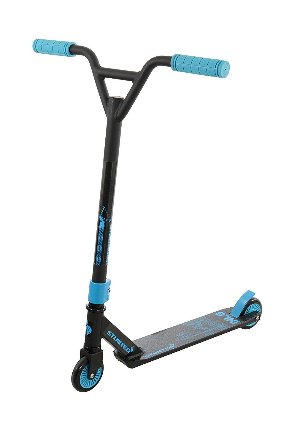 Stunted Urban XLS Scooter Aqua