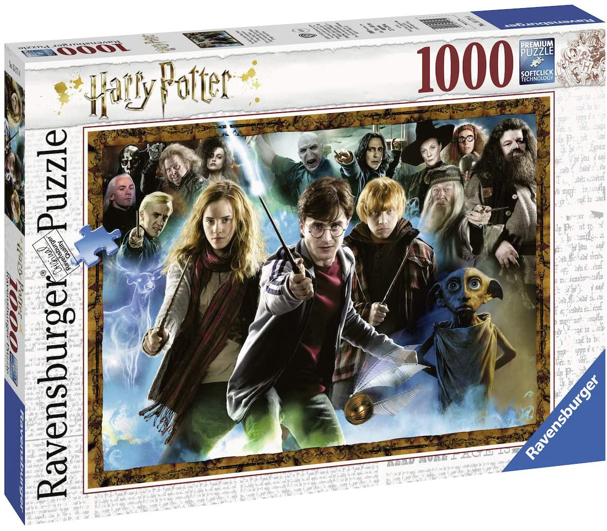Harry Potter 1000pc Jigsaw Puzzle