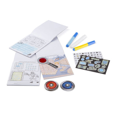Melissa & Doug On the Go Secret Decoder Deluxe Activity Set