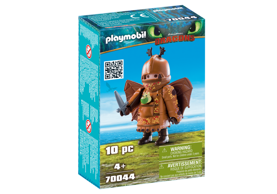 laymobil Dreamworks Dragons 70444 Fishlegs With Flight Suit