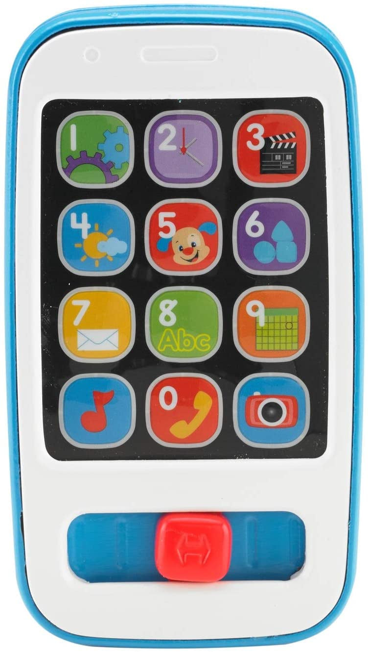 Fisher Price Laugh And Learn Smart Phone Blue