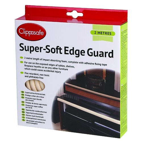 Clippasafe Super-Soft Edge Guard 2mtrs #77/5