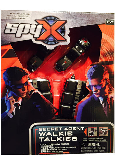 Spy X Secret Agent Walkie Talkies