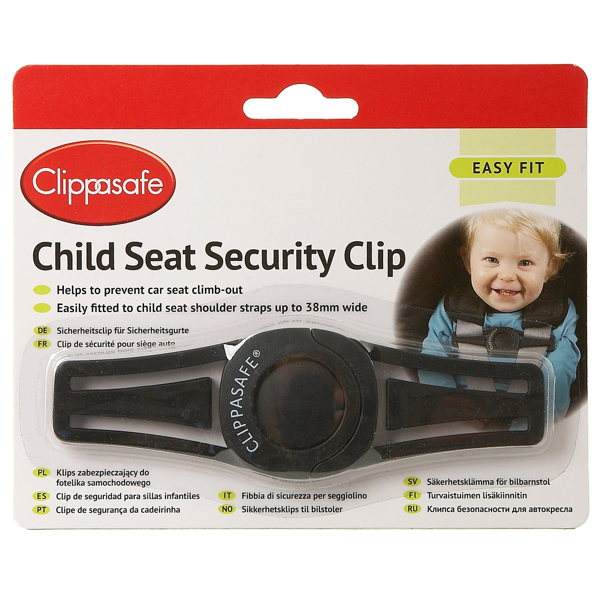 Clippasafe 64 Child Seat Security Cliop