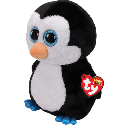 TY Waddles Penguin Large Beanie Boo Soft Toy