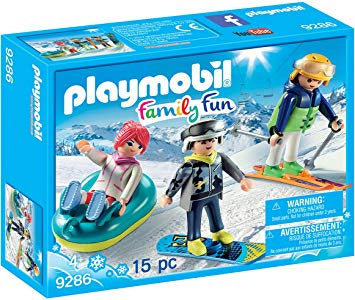 Playmobil Family Fun 9286 Winter Sports Trio