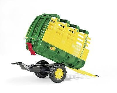 Rolly Green Hay Wagon